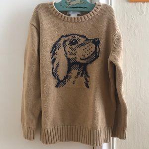 Janie and Jack Dog Sweater Size 5